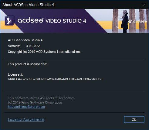 ACDSee Video Studio 4 Crack