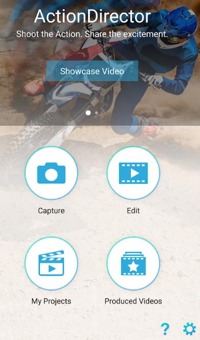 ActionDirector Video Editor Pro Screenshot