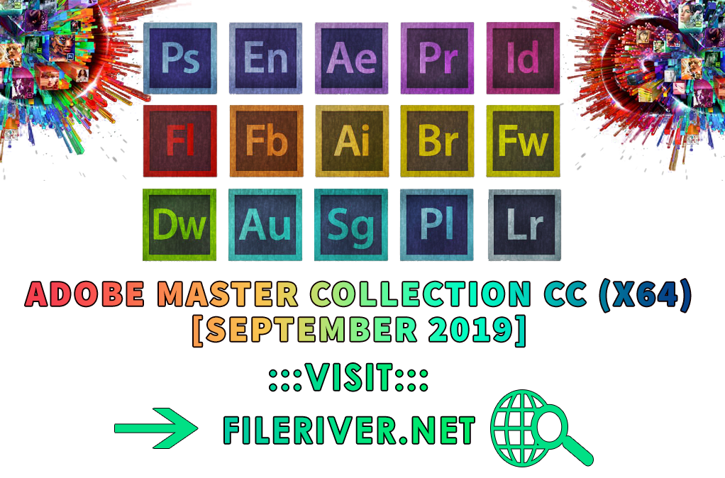 Adobe Master Collection CC Pre-Activated 2019