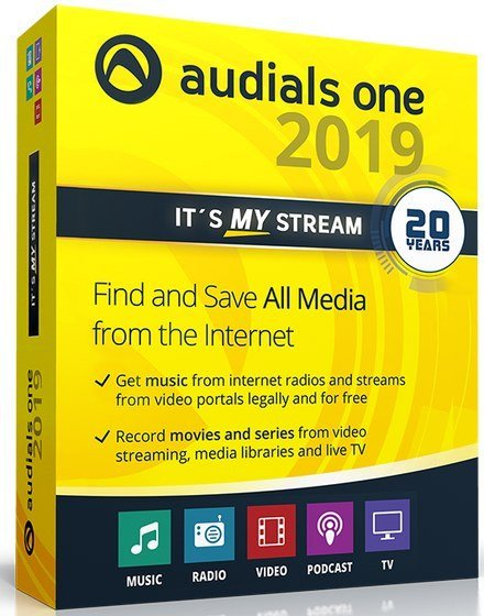 Audials One 2020 Key