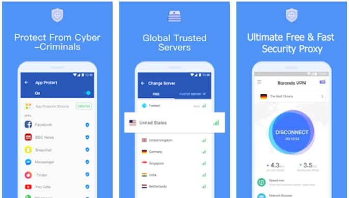 Barando VPN Paid APK Cracked Screenshot