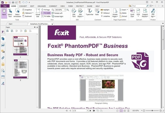 Foxit PhantomPDF Business 9 Crack