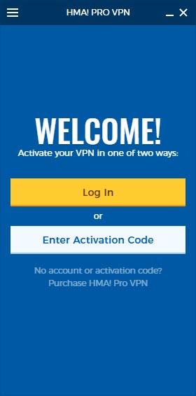 hma vpn activation code