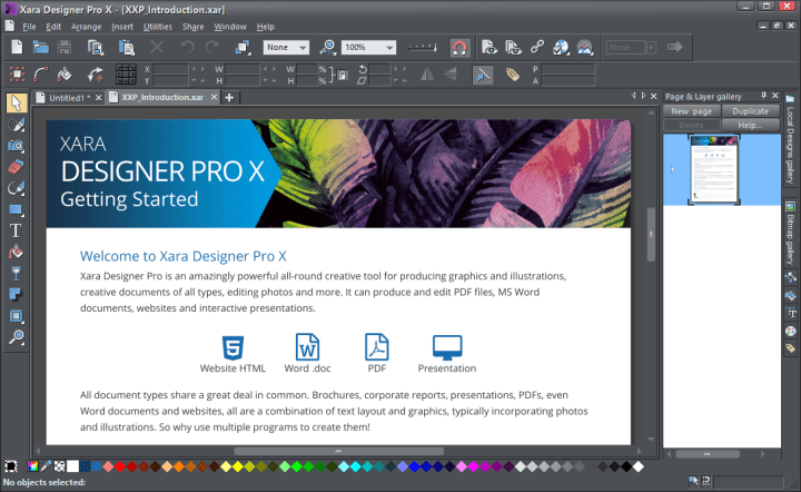 Xara Designer Pro Full Version