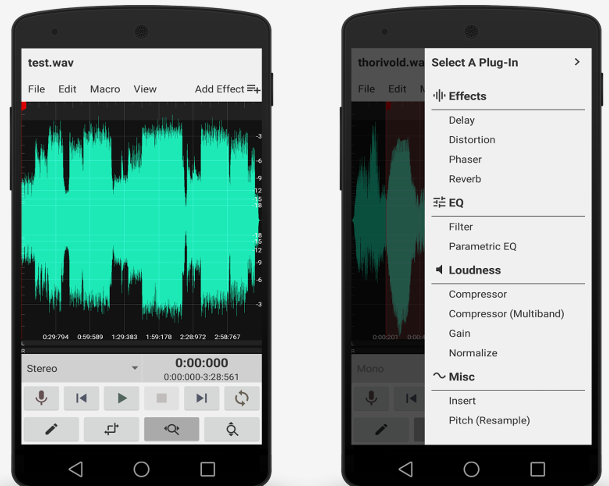 WaveEditor for Android Pro Cracked APK