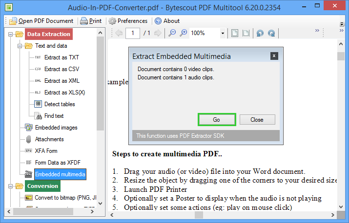 ByteScout PDF Multitool 11.2.1.3929 Crack With License Key 2020 Download